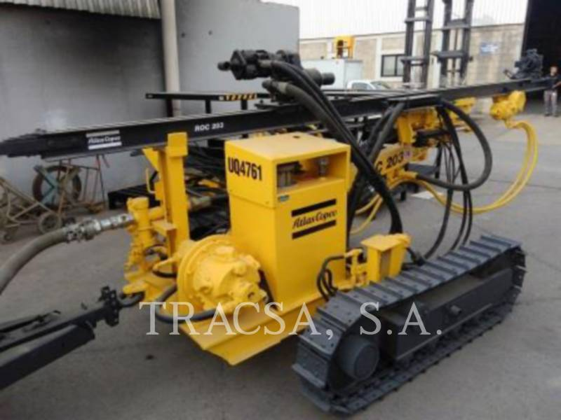 ATLAS-COPCO BOHRER ROC203 equipment  photo 5