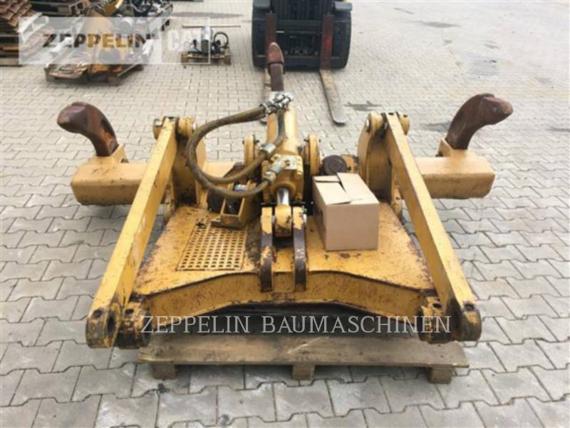 CATERPILLAR TRACTEURS SUR PNEUS - RIPPER DROIT 3-Zahn-Ripper f. D6N equipment  photo 2