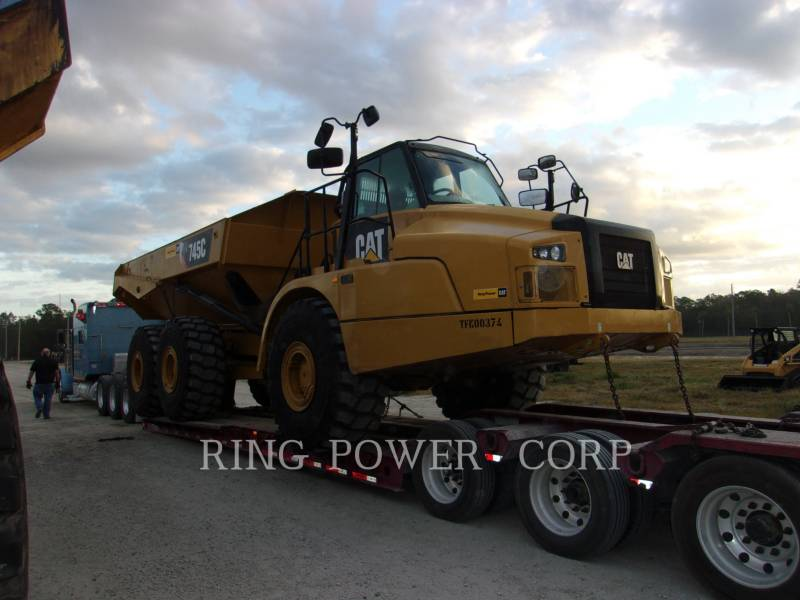 CATERPILLAR ARTICULATED TRUCKS 745CTG equipment  photo 2