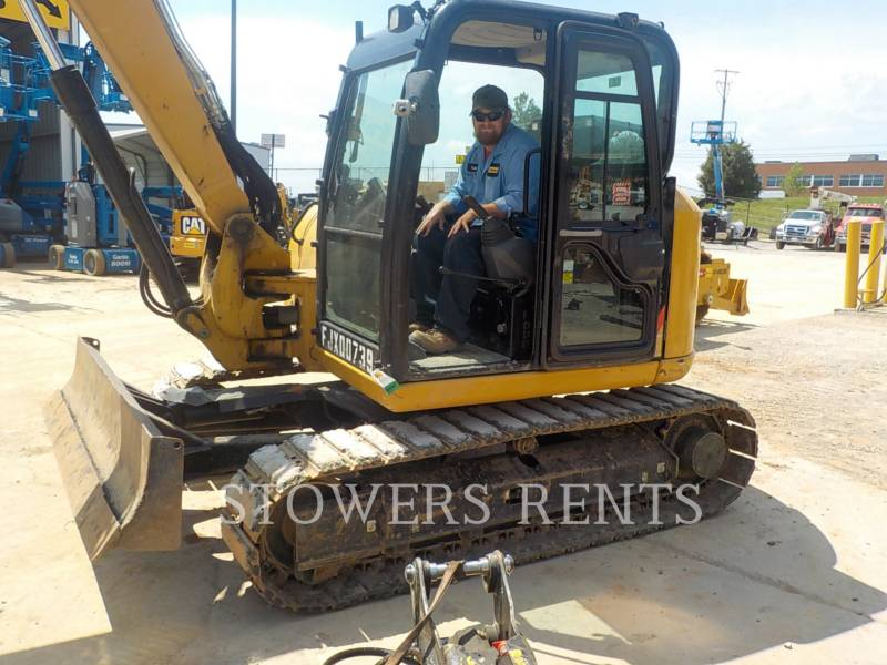 CATERPILLAR TRACK EXCAVATORS 308E2 HT equipment  photo 1