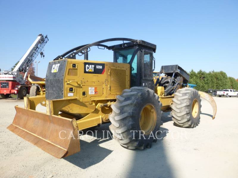 Caterpillar SILVICULTURĂ – EXCAVATOR FORESTIER 525D equipment  photo 3