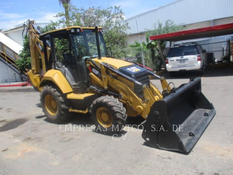 CATERPILLAR BAGGERLADER 420F2ITLRC equipment  photo 1