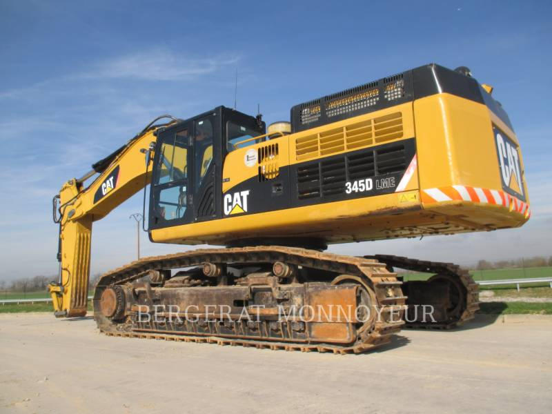CATERPILLAR KETTEN-HYDRAULIKBAGGER 345D equipment  photo 3