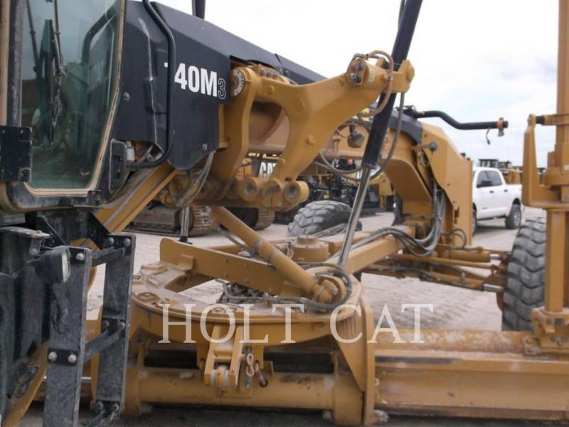 CATERPILLAR MOTORGRADER 140M3 equipment  photo 19