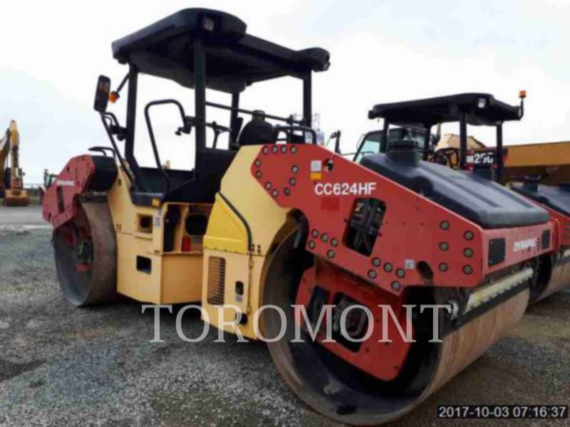 DYNAPAC COMPACTEURS CC624HF equipment  photo 4