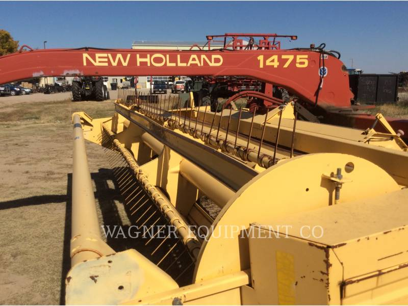 NEW HOLLAND LTD. MATERIELS AGRICOLES POUR LE FOIN 1475 equipment  photo 3