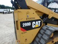 CATERPILLAR CARREGADEIRAS TODO TERRENO 299D equipment  photo 21