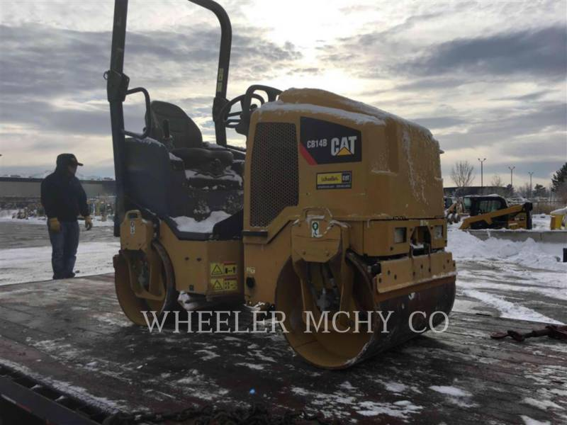 CATERPILLAR VIBRATORY DOUBLE DRUM ASPHALT CB14B equipment  photo 4