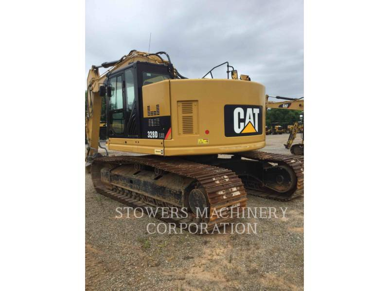CATERPILLAR KETTEN-HYDRAULIKBAGGER 328DL equipment  photo 3