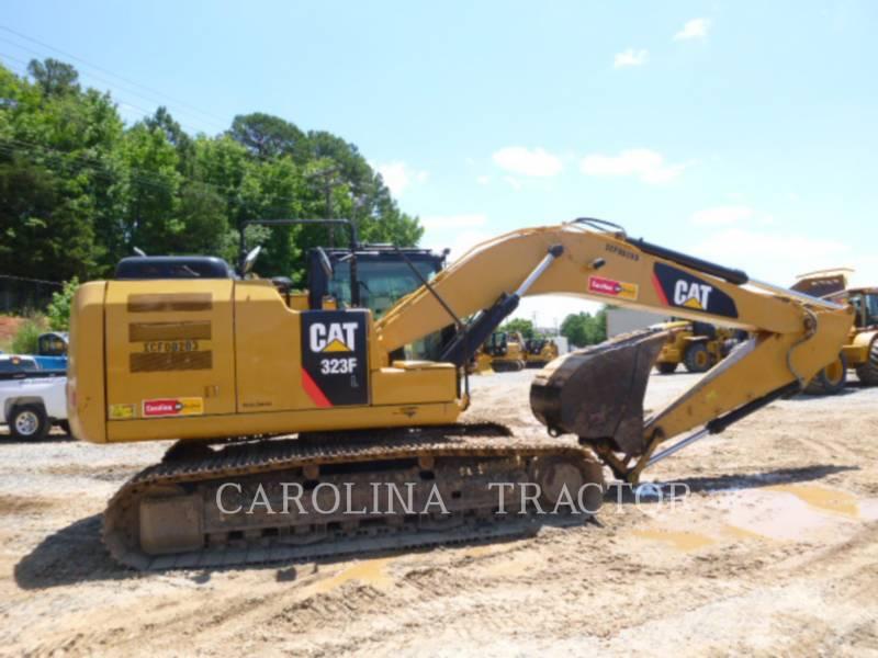 CATERPILLAR TRACK EXCAVATORS 323F equipment  photo 4
