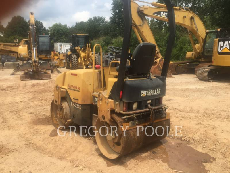 CATERPILLAR TAMBOR DOBLE VIBRATORIO ASFALTO CB-224E equipment  photo 4