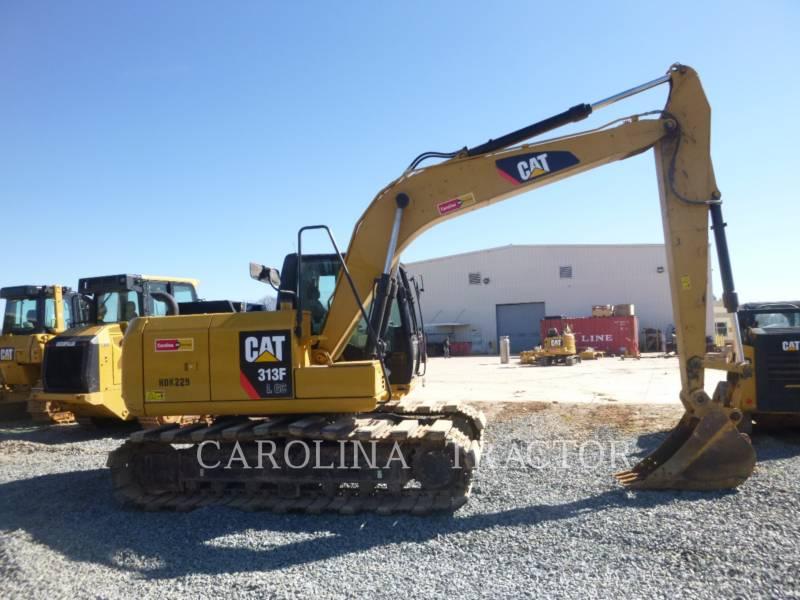 CATERPILLAR TRACK EXCAVATORS 313F GC equipment  photo 4