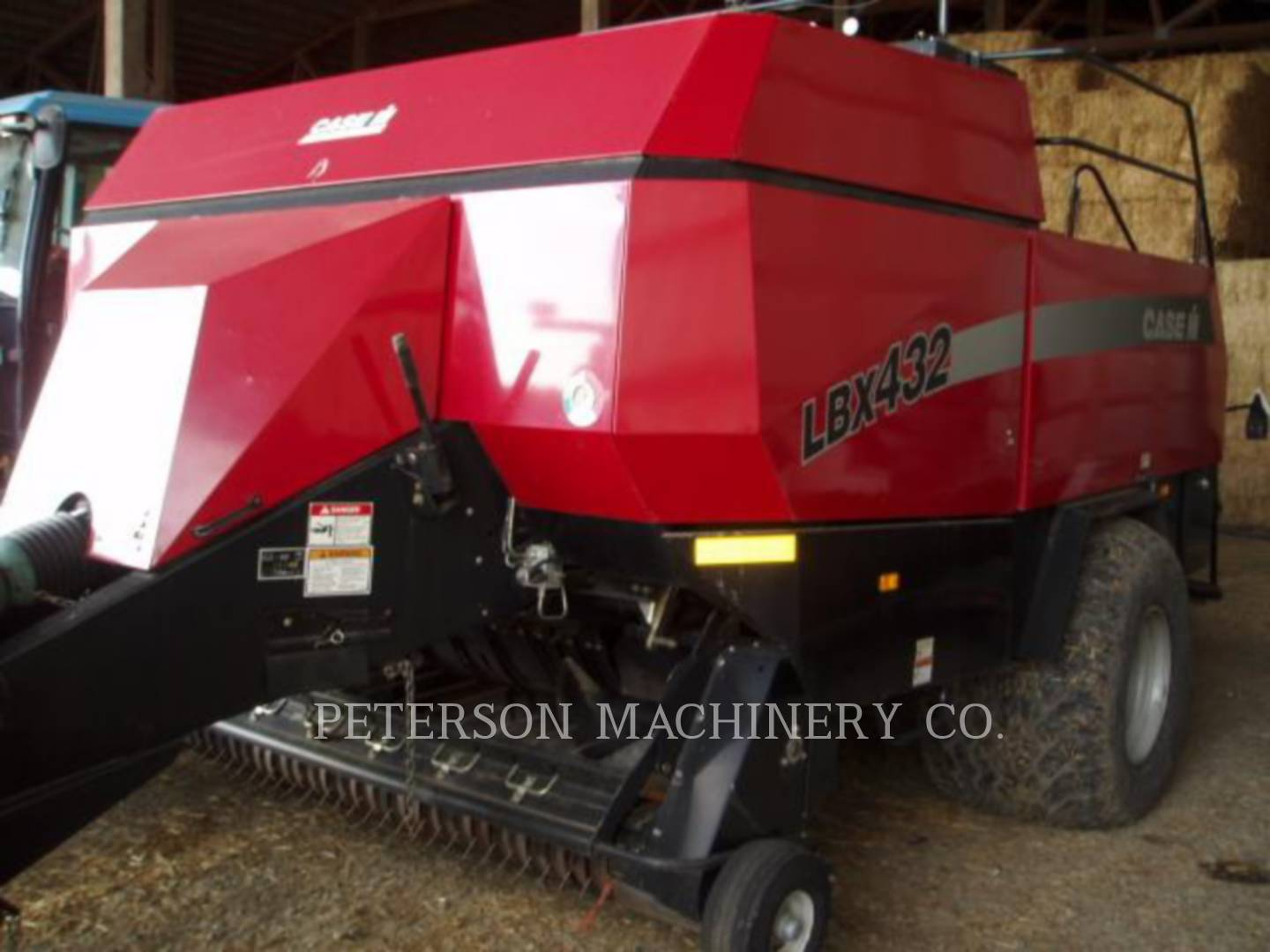 Detail photo of 2007 Case IH LBX432 from Construction Equipment Guide