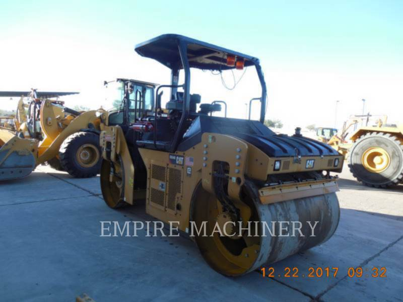 CATERPILLAR COMPATTATORE PER ASFALTO A DOPPIO TAMBURO VIBRANTE CB54B equipment  photo 1