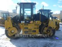 Equipment photo CATERPILLAR CD54 VIBRATORY DOUBLE DRUM ASPHALT 1
