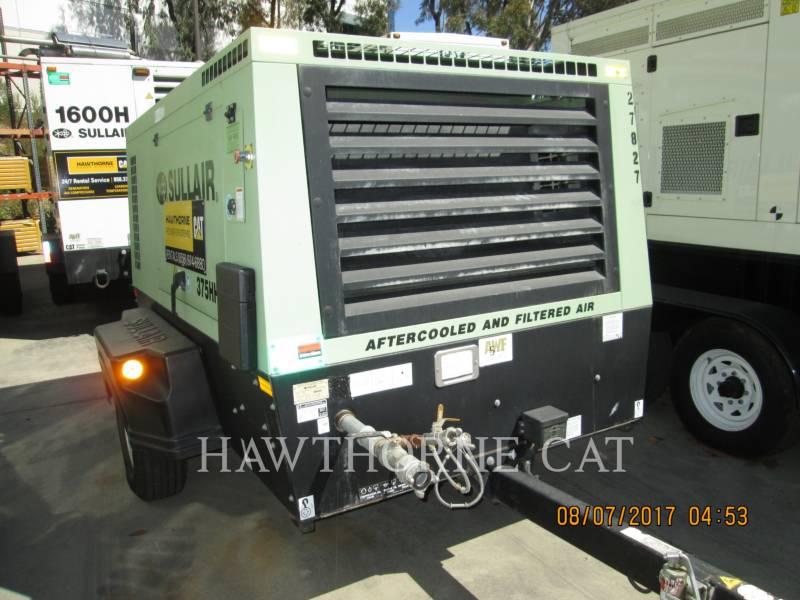 SULLAIR AIR COMPRESSOR 375CHH/AF/DPQ/CA4 equipment  photo 5