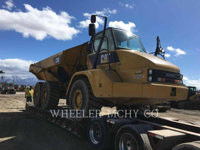 CATERPILLAR ARTICULATED TRUCKS 730 TG equipment  photo 13