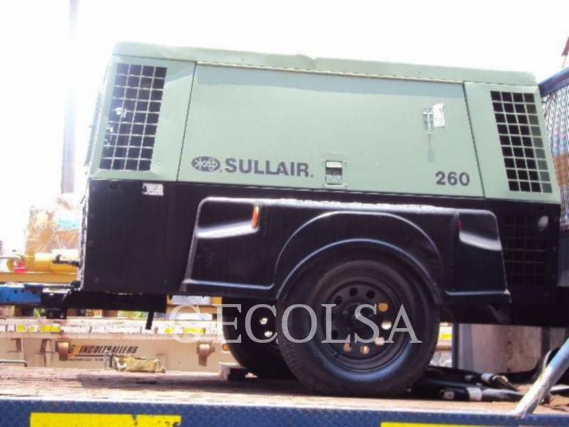 SULLAIR エア・コンプレッサ 260HDPQ equipment  photo 1
