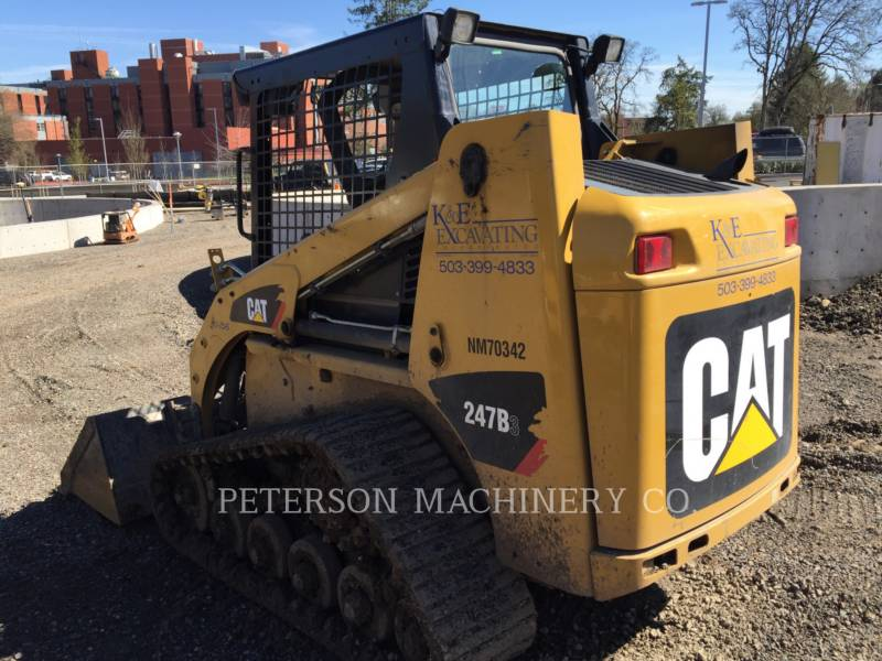 CATERPILLAR PALE CINGOLATE MULTI TERRAIN 247B3 HRC equipment  photo 2