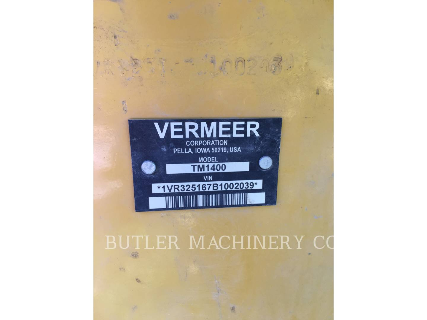 Detail photo of 2011 Vermeer TM1400 from Construction Equipment Guide