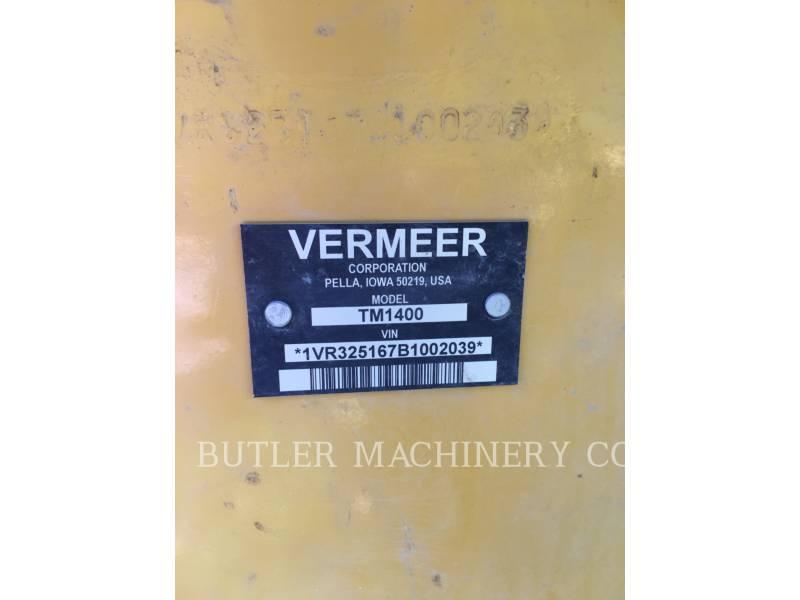 VERMEER AG HAY EQUIPMENT TM1400 equipment  photo 1