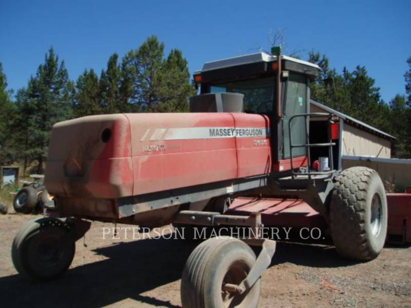 AGCO-MASSEY FERGUSON AG HAY EQUIPMENT 9635 equipment  photo 1