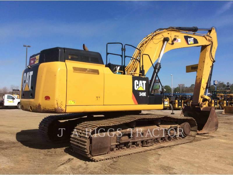 CATERPILLAR TRACK EXCAVATORS 349E 12C equipment  photo 6