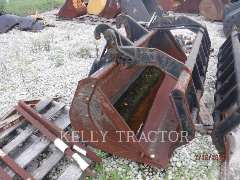 CATERPILLAR  GRAPPLE 1.1 CYD MULTI-GRAPPLE BUCKET FOR TELEHANDLERS equipment  photo 1
