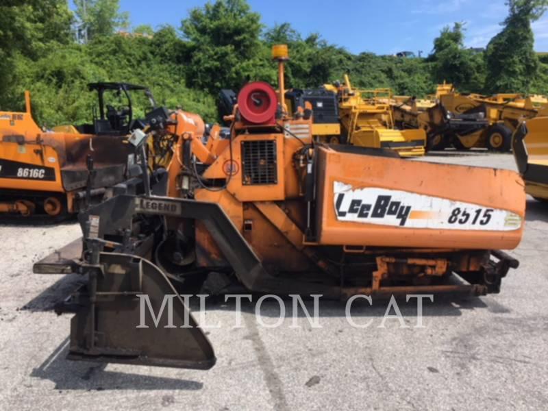 LEE-BOY PAVIMENTADORES DE ASFALTO 8515 equipment  photo 5