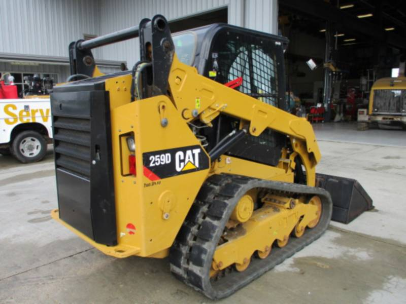CATERPILLAR MULTITERREINLADERS 259D equipment  photo 8