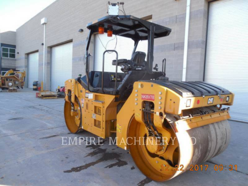 CATERPILLAR TANDEMOWY WALEC WIBRACYJNY DO ASFALTU (STAL-STAL) CB54B equipment  photo 3