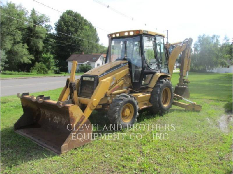 CATERPILLAR BACKHOE LOADERS 416C equipment  photo 1
