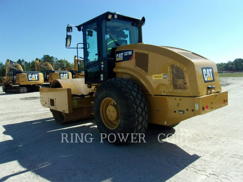 CATERPILLAR TAMBOR DOBLE VIBRATORIO ASFALTO CS/P78B equipment  photo 4