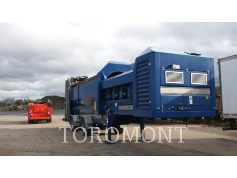 TRACKMOBILE SCREENS T7 TROMMEL equipment  photo 1