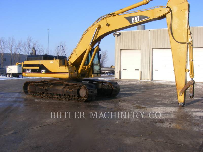 CATERPILLAR PELLES SUR CHAINES 345 B L SERIES LL equipment  photo 2