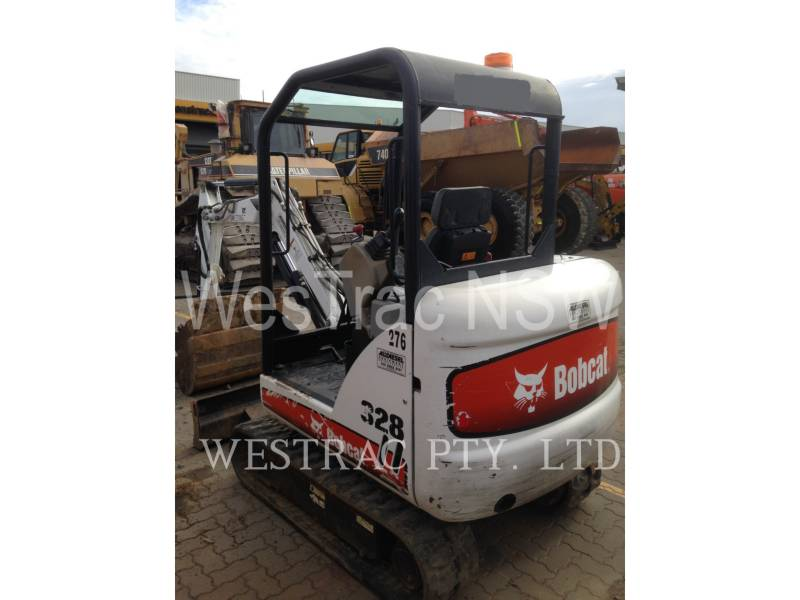 BOBCAT EXCAVATOARE PE ŞENILE 328 equipment  photo 4