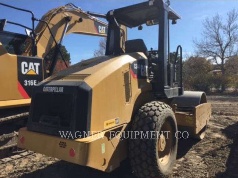 CATERPILLAR EINZELVIBRATIONSWALZE, GLATTBANDAGE CS44 equipment  photo 4