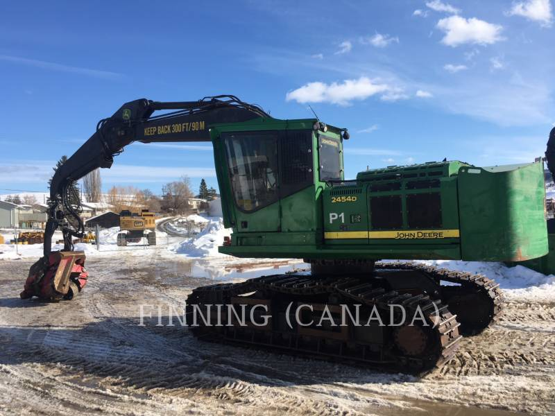 JOHN DEERE Forestal - Procesador 2454D equipment  photo 1