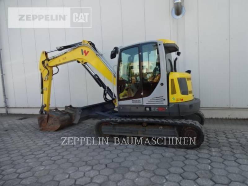 WACKER CORPORATION KETTEN-HYDRAULIKBAGGER EZ80 equipment  photo 4