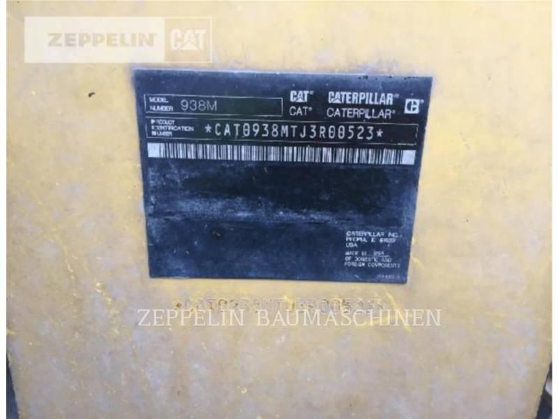 CATERPILLAR CHARGEURS SUR PNEUS/CHARGEURS INDUSTRIELS 938M equipment  photo 11