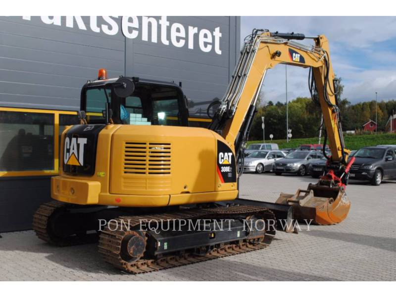 CATERPILLAR KETTEN-HYDRAULIKBAGGER 308E equipment  photo 1