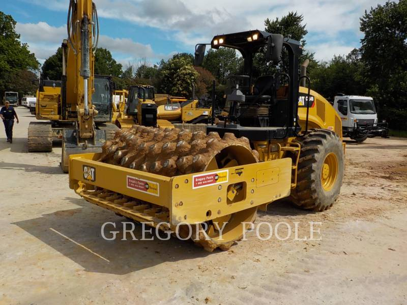 CATERPILLAR VIBRATORY SINGLE DRUM PAD CP54B equipment  photo 1