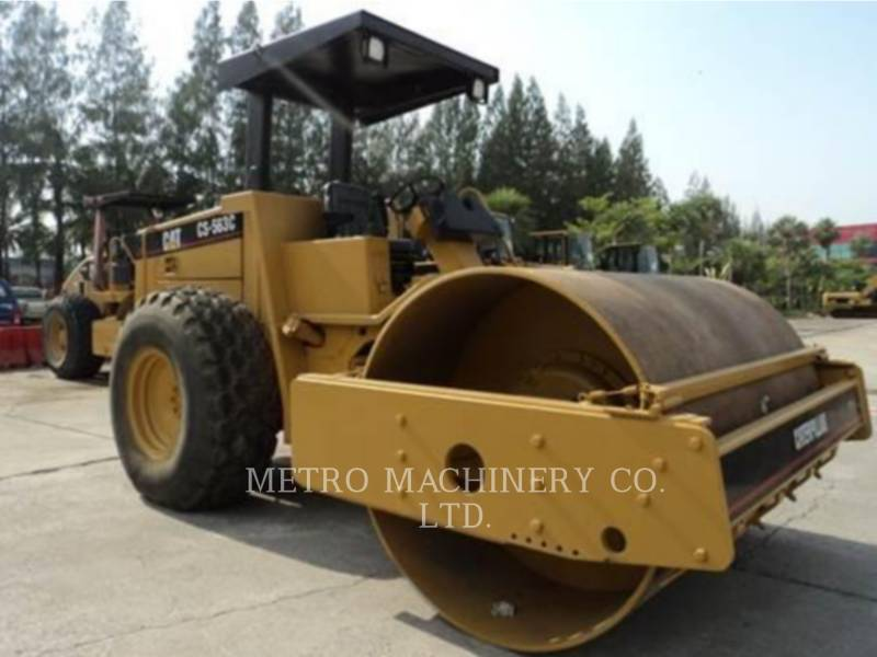 CATERPILLAR EINZELVIBRATIONSWALZE, GLATTBANDAGE CS-563CAW equipment  photo 4