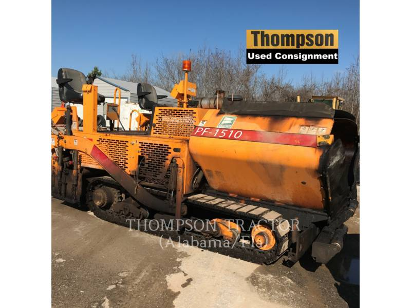 BLAW KNOX / INGERSOLL-RAND ASPHALT PAVERS PF-1510 equipment  photo 1