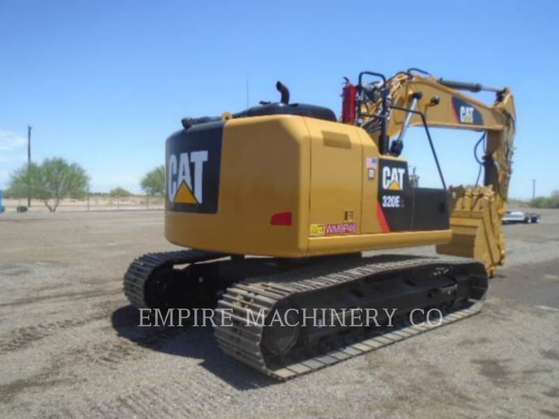 CATERPILLAR TRACK EXCAVATORS 320ELRRTHP equipment  photo 3