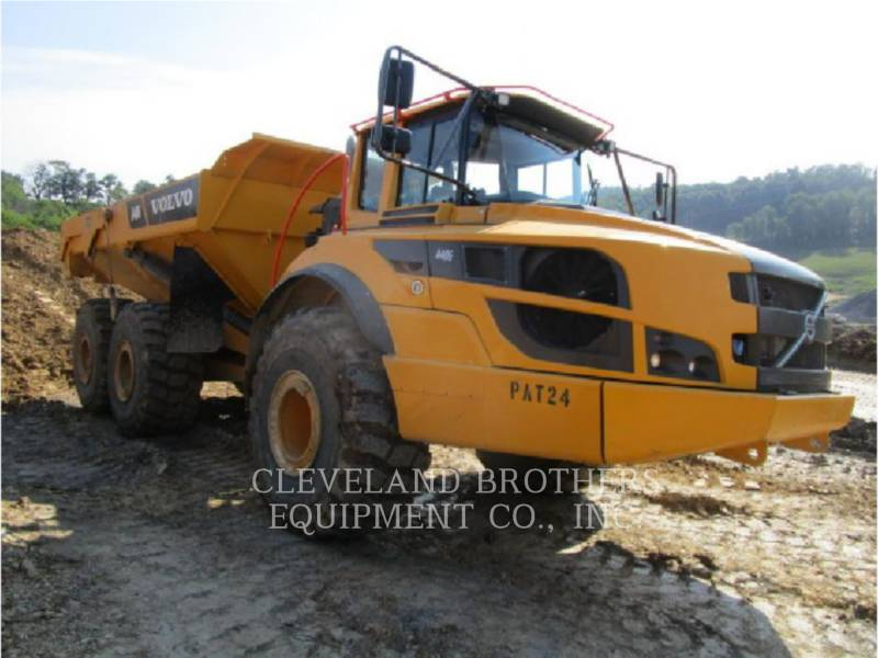 VOLVO CONSTRUCTION EQUIPMENT RÓWNIARKI SAMOBIEŻNE A40G equipment  photo 1