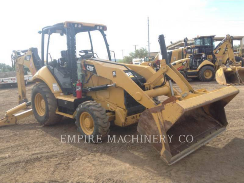 CATERPILLAR BAGGERLADER 420F 4EO equipment  photo 1