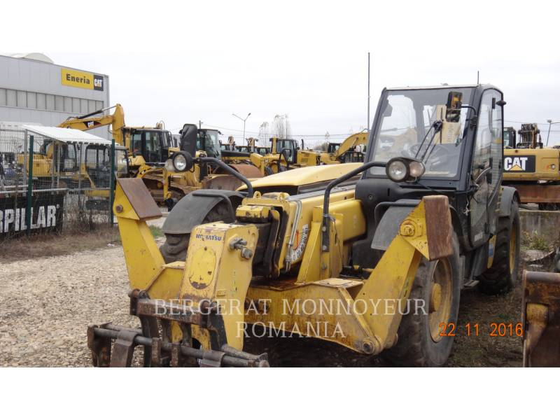 KOMATSU TELEHANDLER WH 714 H equipment  photo 10