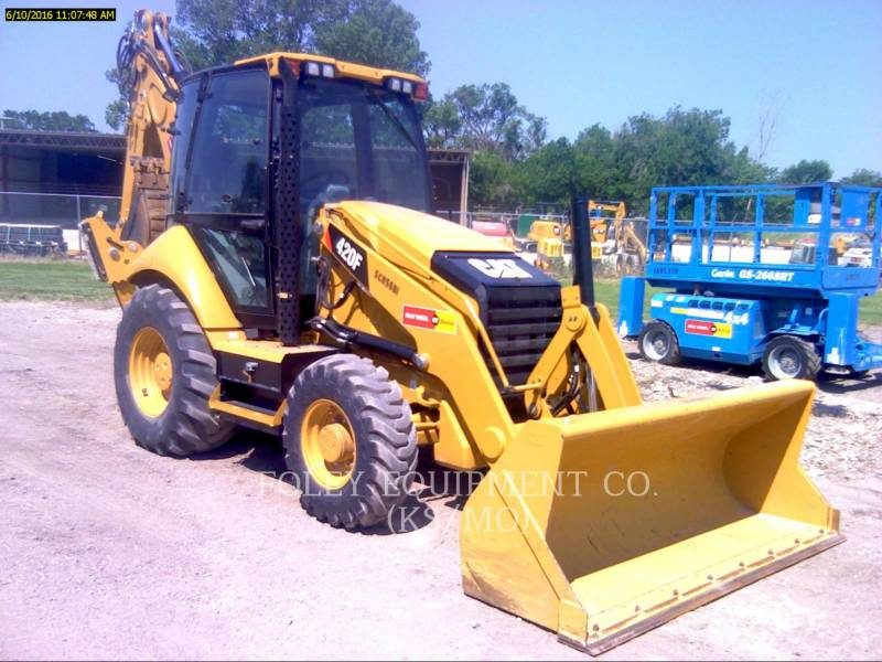 CATERPILLAR バックホーローダ 420F equipment  photo 1