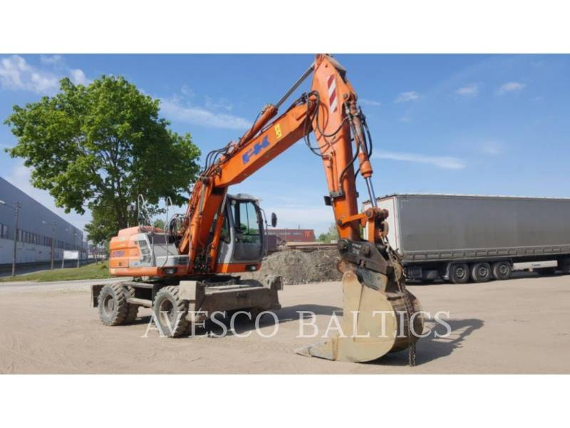 FIAT KOBELCO PELLES SUR PNEUS E175 WT equipment  photo 1